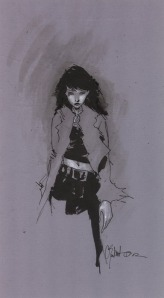 Death © Chris Bachalo Source: http://www.chrisbachalo.net/gallery-miscellaneous.html